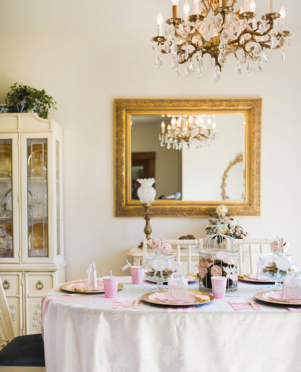 elegant dinner table ideas