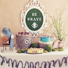 enchanted brave themed birthday party