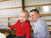 first birthday boy
