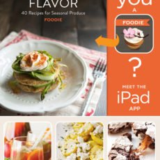 foodie iPad app by glam media