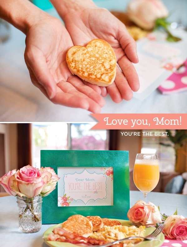 free mother's day breakfast printables from HWTM