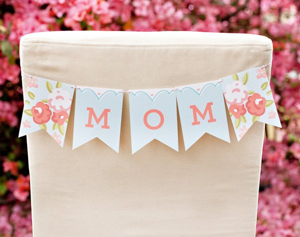 Mothers Day Breakfast + Free Printables Blog Hop // Hostess with