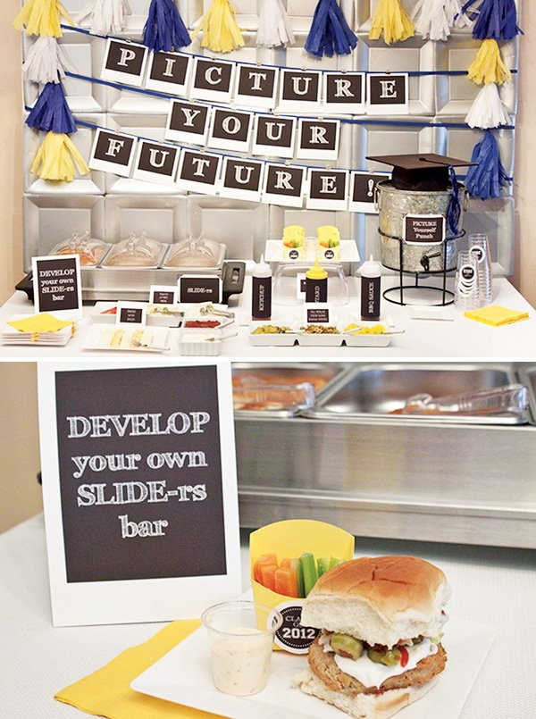 """Picture Your Future"" Graduation Party Ideas"