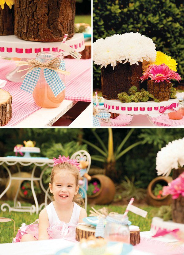 Backyard Teddy Bear Picnic Party Girls Birthday