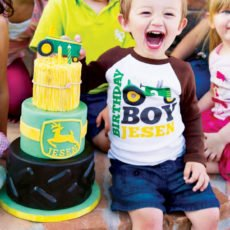 john deer themed birthday party