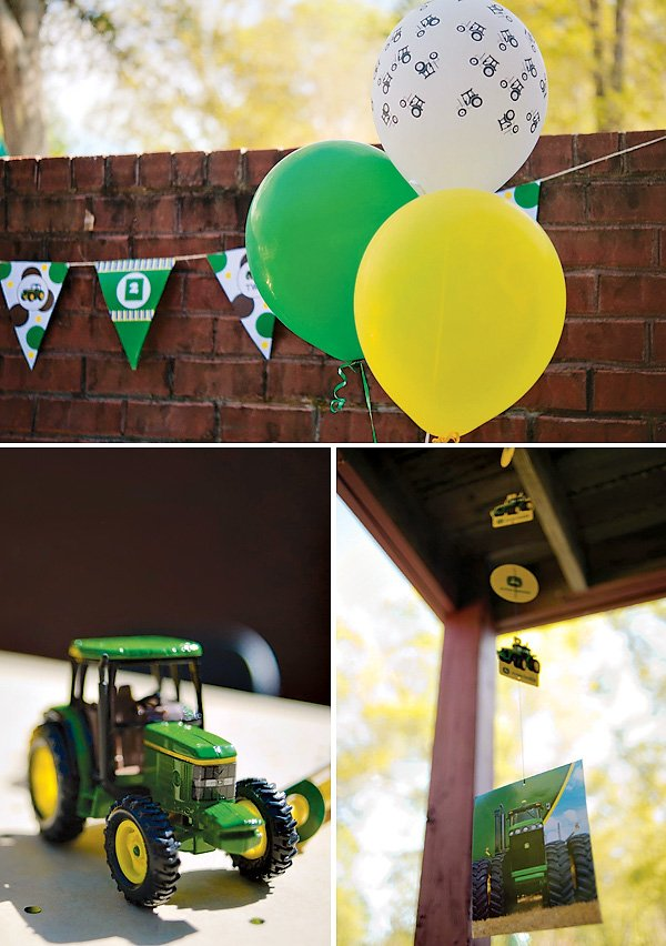 tractor balloons