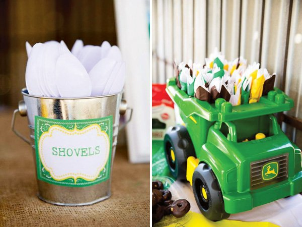 Creative John Deere Themed Party Boys Birthday Hostess with