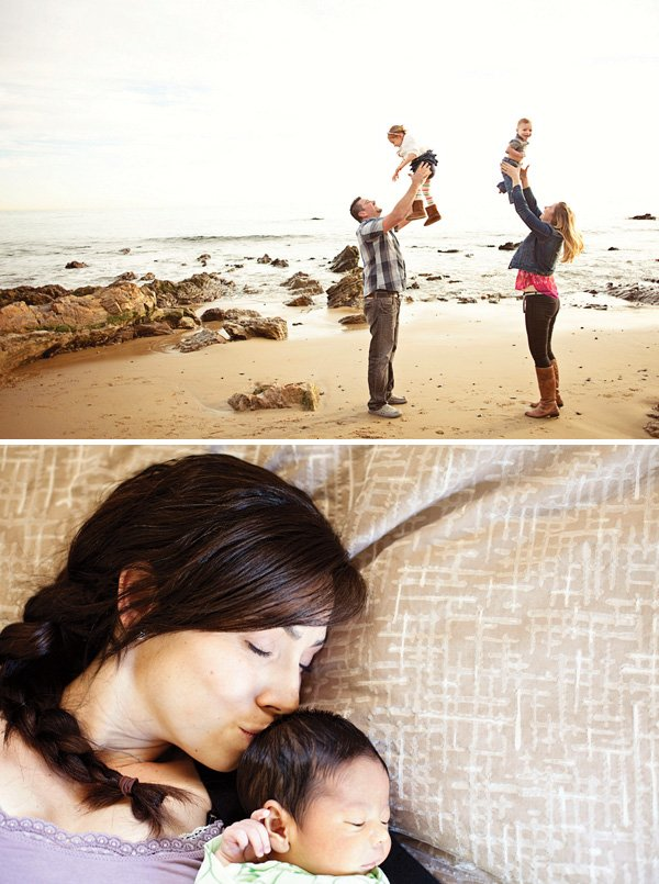 kids and parents photo shoot ideas