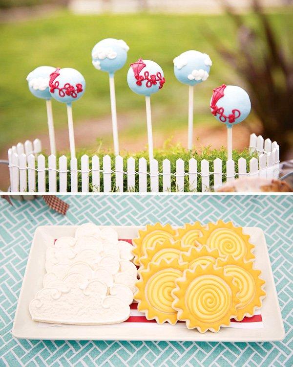 Kite Cake Pops