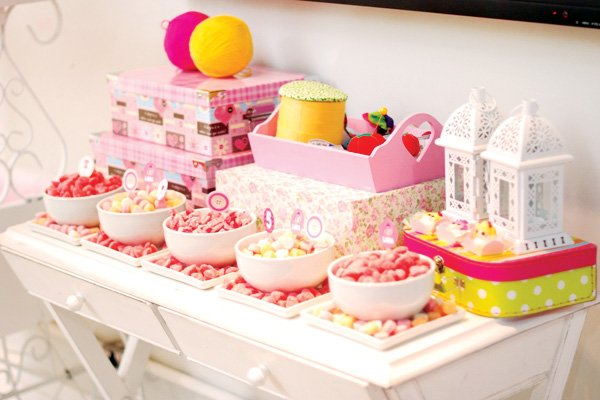 lalaloopsy candy bar ideas for a kids birthday party