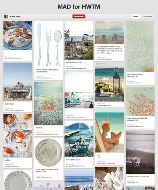 Pinterest Board - Madhouse Ocean
