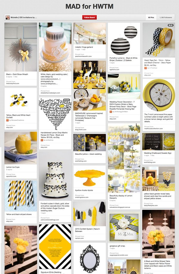 Pinterest Board - Madhouse Lemonwood