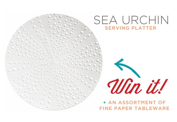MADHOUSE sea urchin serving platter