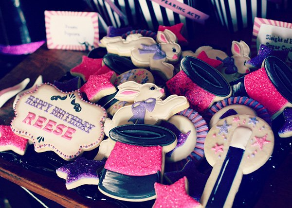 magic bunny cookies for a magic party