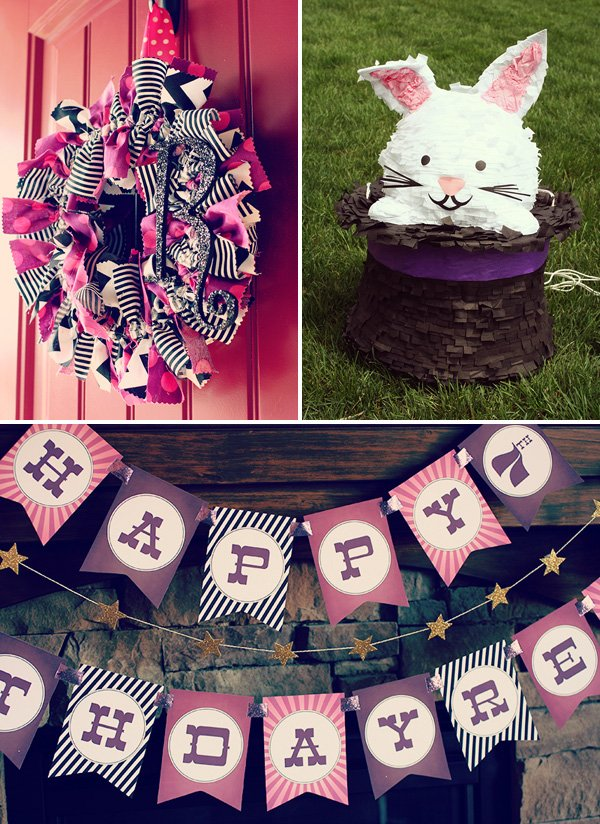 Sparkly, Pink & Vintage Magic Party // Hostess with the Mostess�