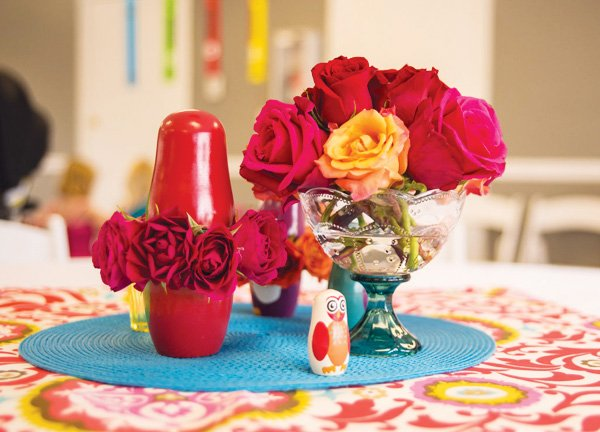 nesting doll centerpiece