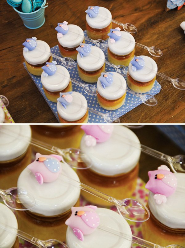 Sweet Pink Amp Blue Owl Dessert Table Hostess With The