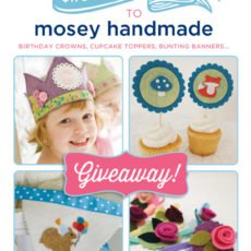 Mosey Handmade - Felt Party Decor Giveaway