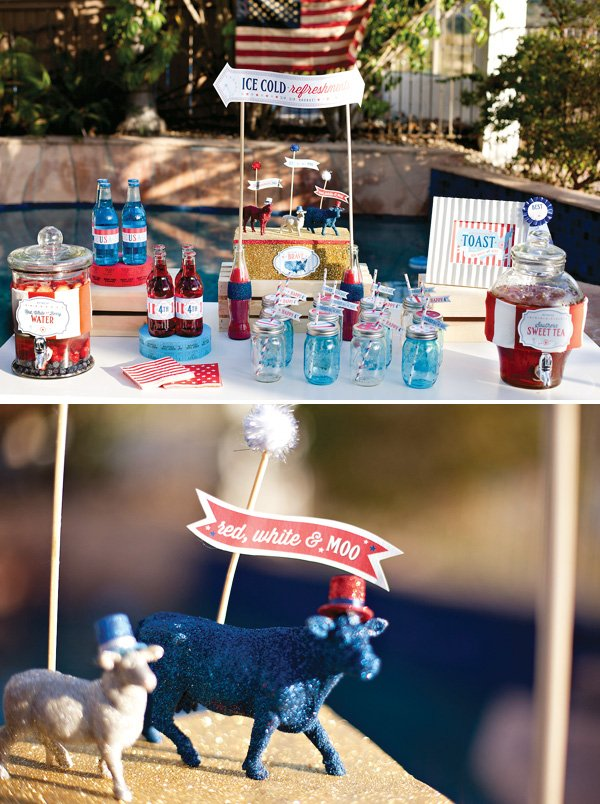 patriotic carnival party drinks