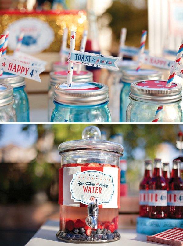patriotic party water