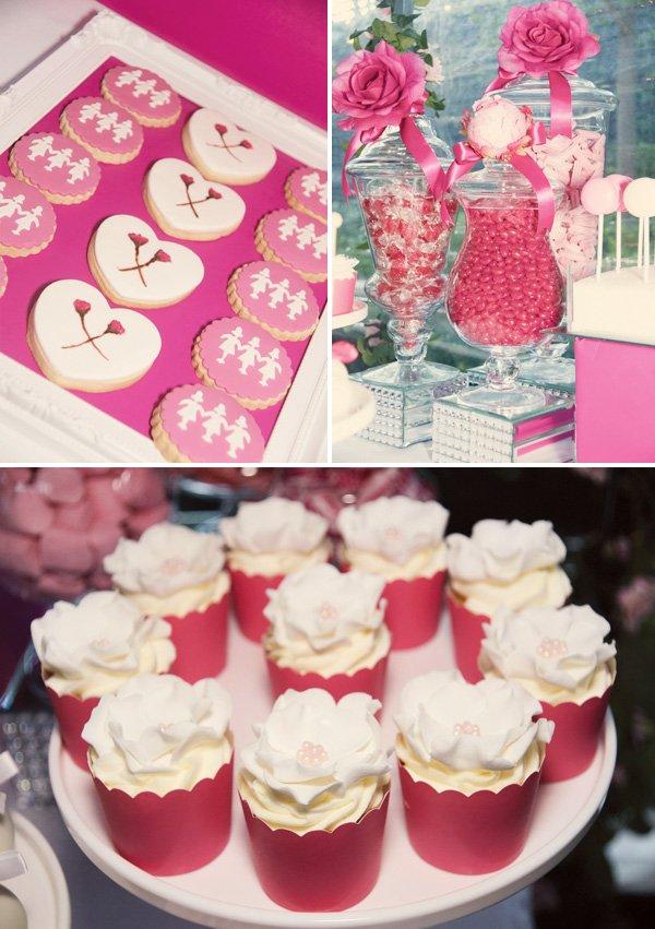 pink dessert table ideas