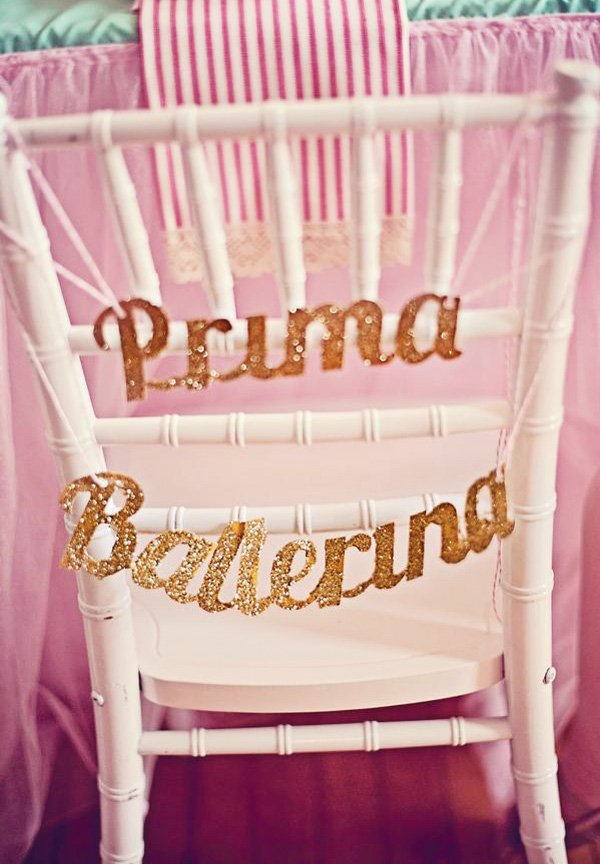 prima ballerina chair back