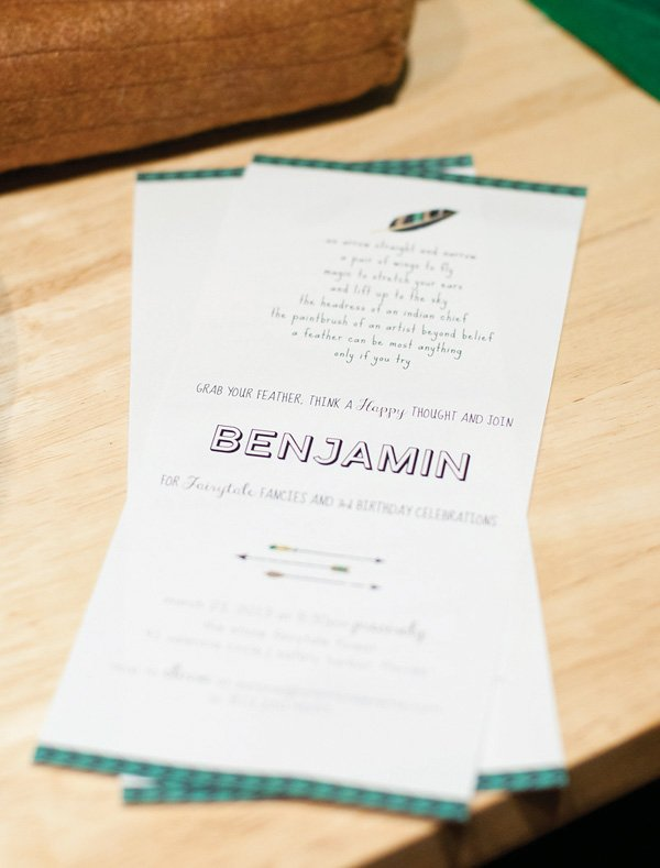 robin hood inspired invitations