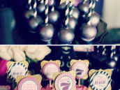 star cake pops and pink cupcakes