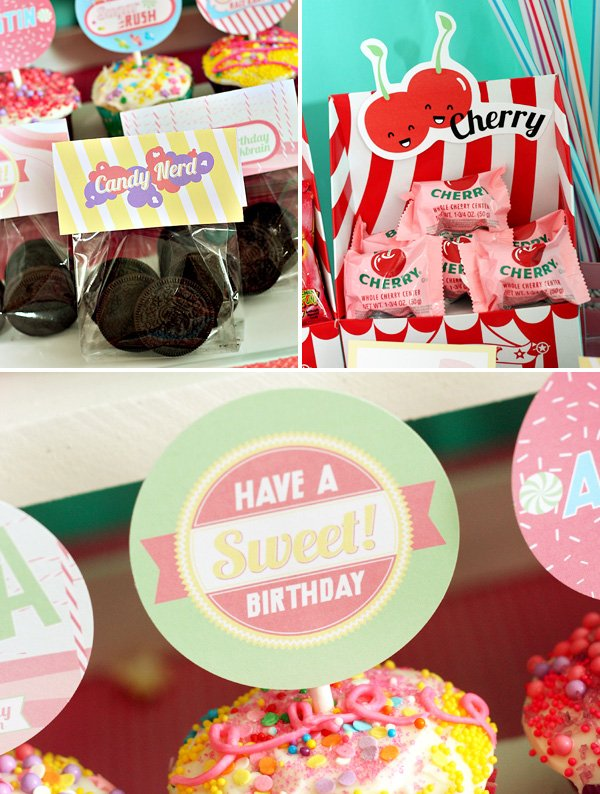 sweet birthday party ideas