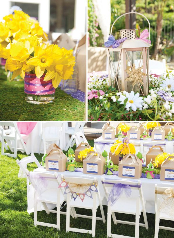 Whimsical Tangled Birthday Party Ideas Hostess With The MostessR