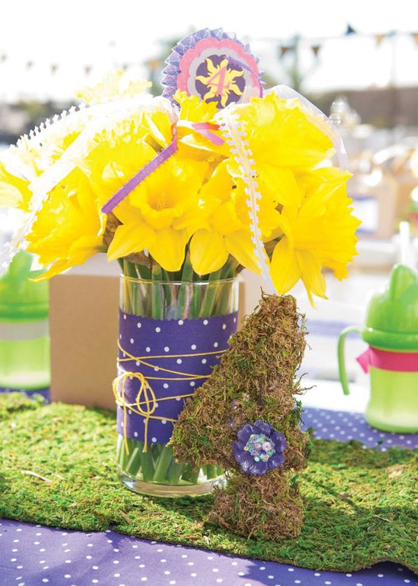 tangled centerpiece idea