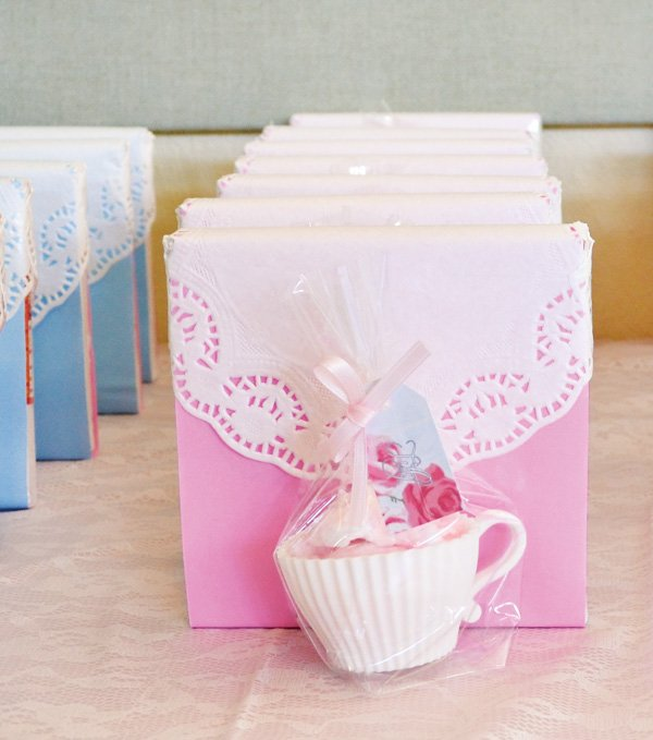 Tea Birthday Party Favors