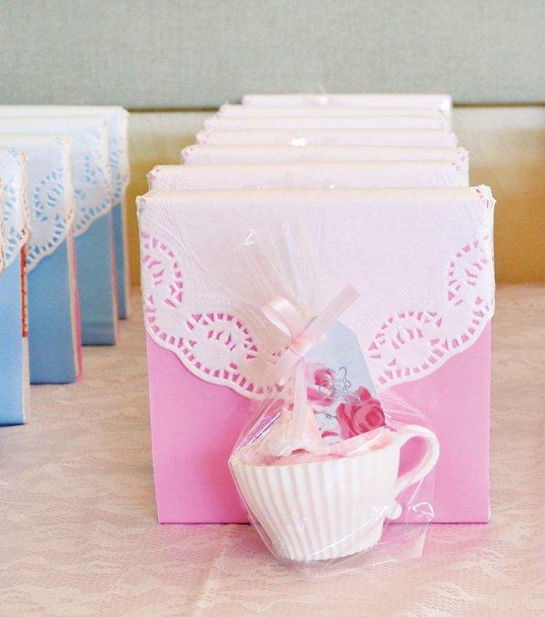 Tea Birthday Party Favors