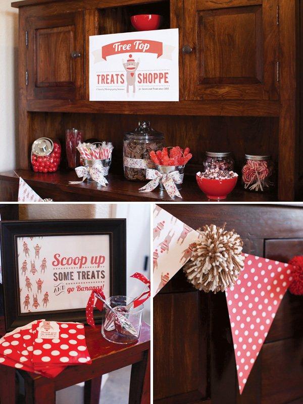 Treats Shoppe Party Idea