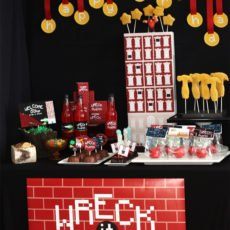 wreck it ralph party ideas