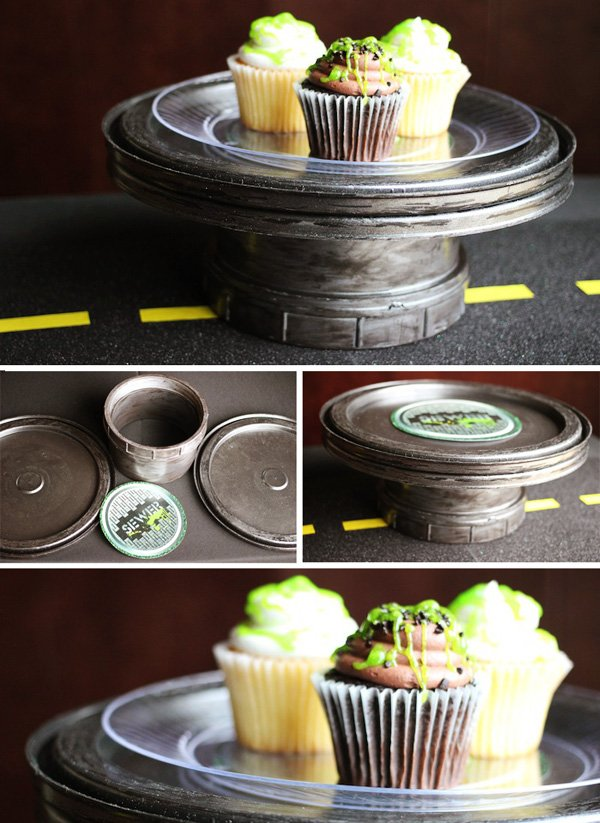 cupcake centerpiece tutorial