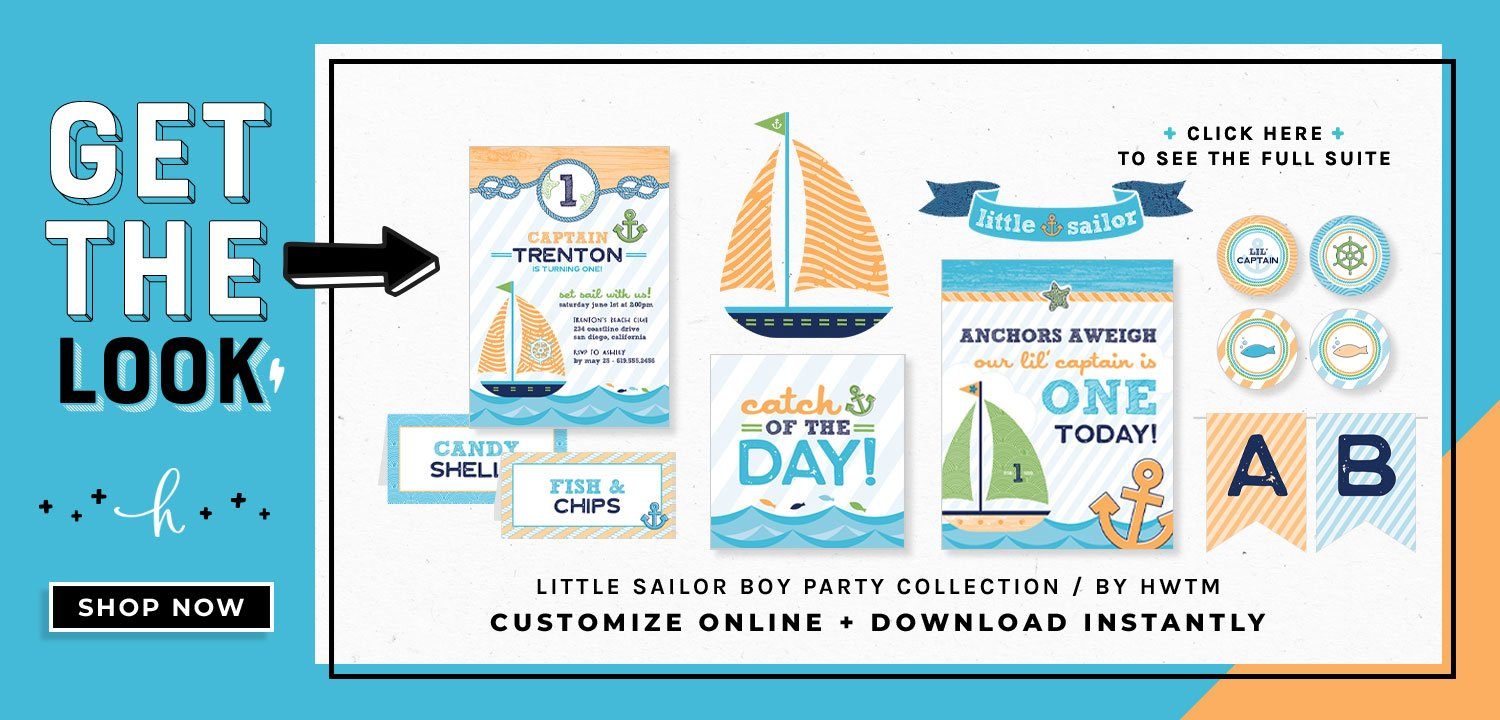 Sailor Boy Printables
