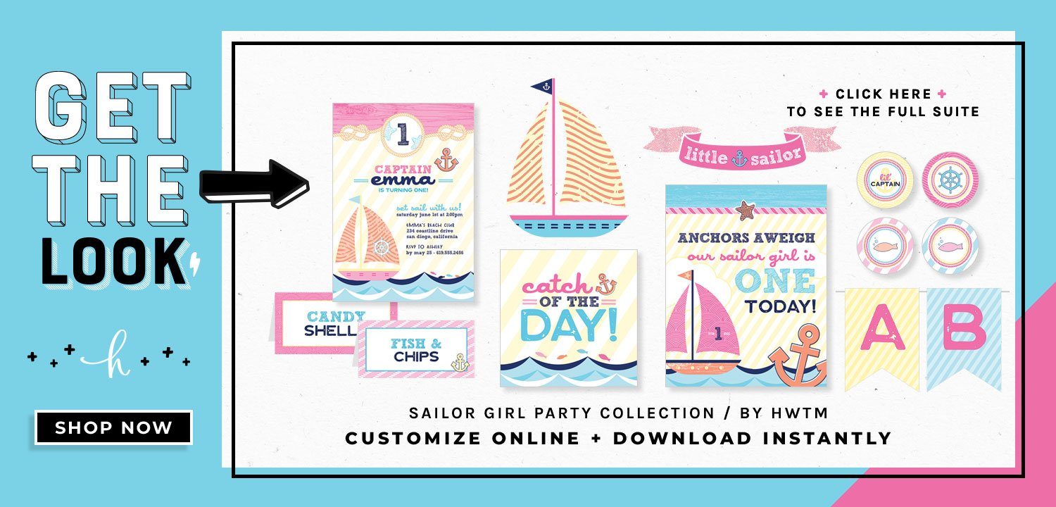 Sailor Girl Printables