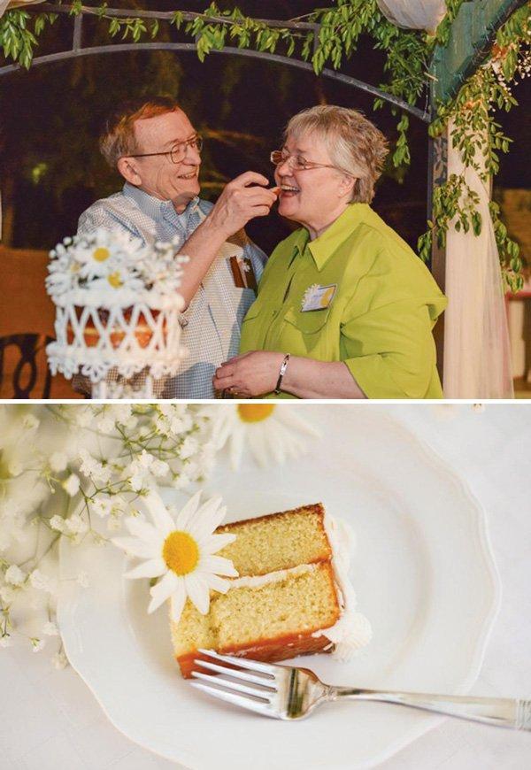 Apricot Almond Anniversary Cake