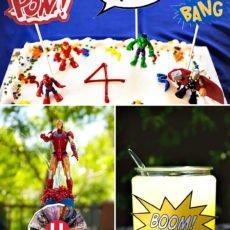 Avengers Birthday Party