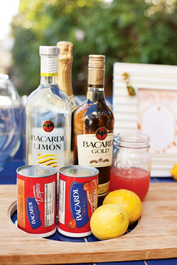 Glitz Spritzer Cocktail Ingredients - Bacardi
