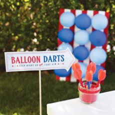 Balloon Darts Carnival Game