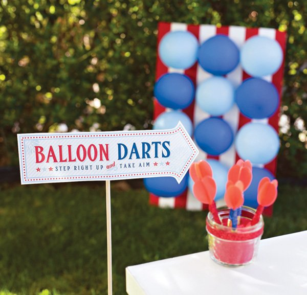 Balloon Darts Carnival Game