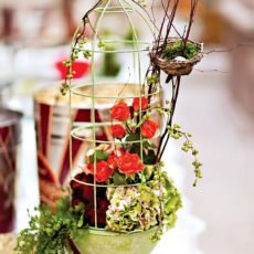 Bird theme wedding decorations