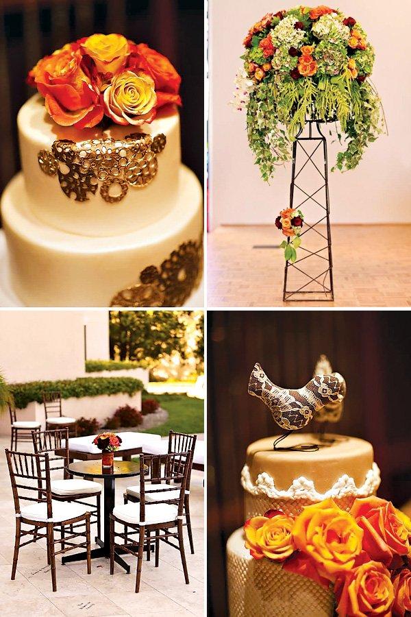 Bird Themed Wedding Ideas & Love Bird Cake Toppers