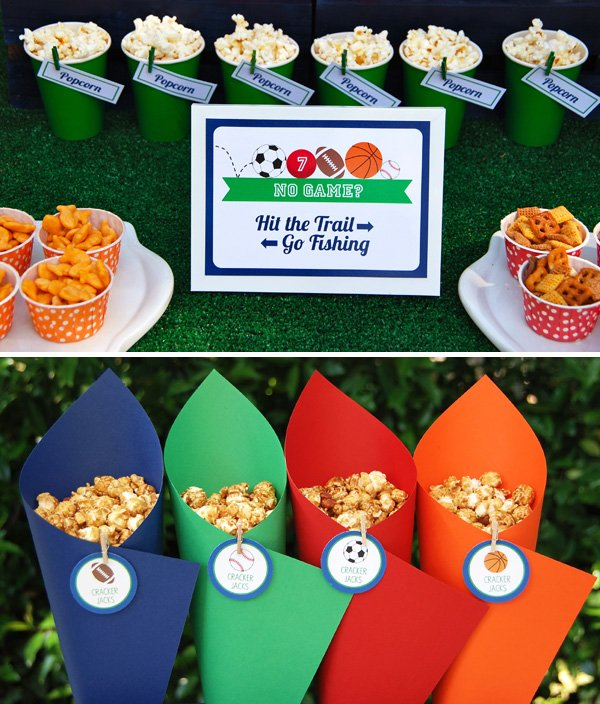 """Let's Play Ball"" Sports Party {Boys Birthday} // Hostess"