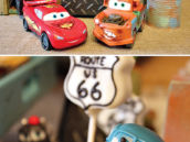 Cars themed cake pops
