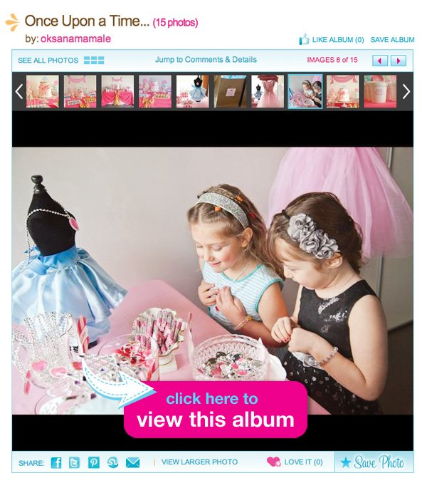 Cinderella Birthday Party Album