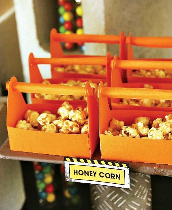 Tool box snack trays