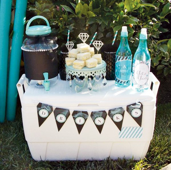 summer party refreshments